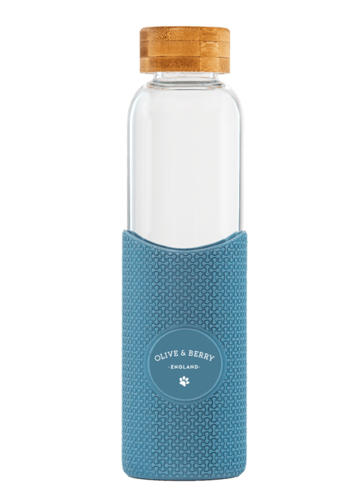 Joogipudel logoga